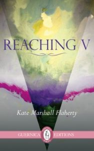 Kate Flaherty book cover Reaching V