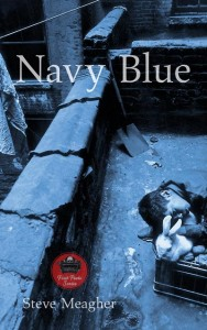 book cover, Navy Blue by Steve Meagher