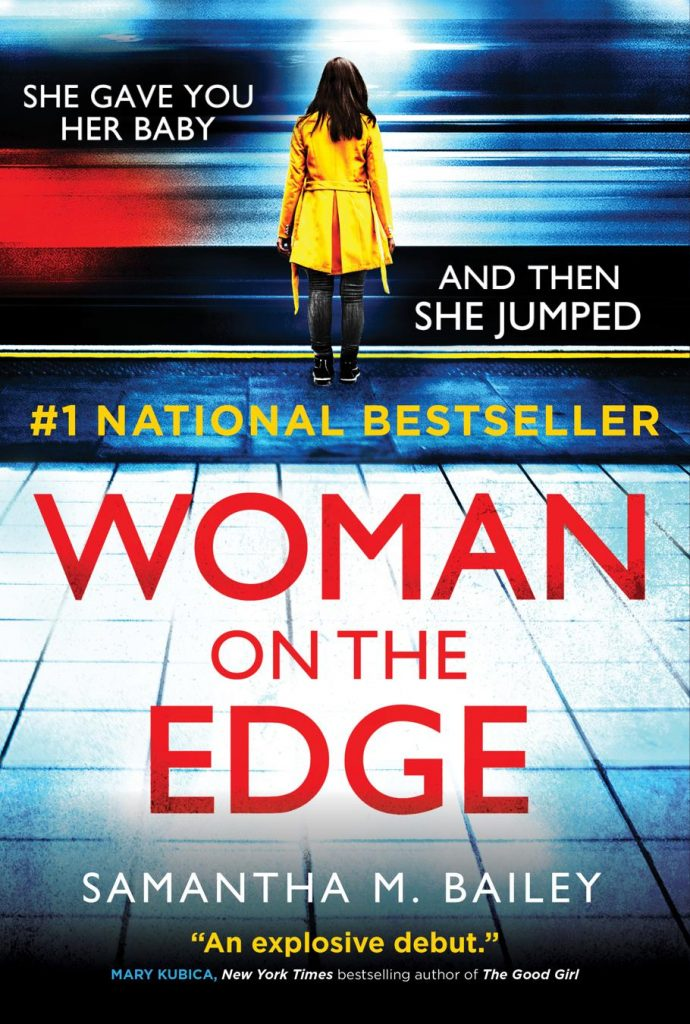 Woman on the Edge cover by Samantha M Bailey