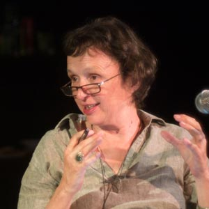 Novelist and short story writer Ursula Pflug