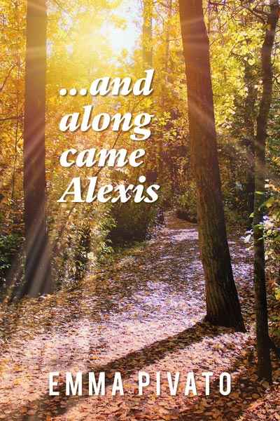 along came alexis, book cover, by emma pivato