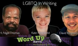 LGBTQ in writing panel for writers of all genres